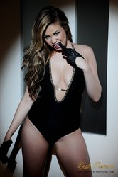 Leah Francis Official - #8 - Black Bodysuit and Gloves